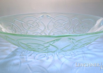 Keltic Serving Bowl - Lenchner Glass