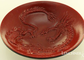 Red Dragon Bowl - Lenchner Glass